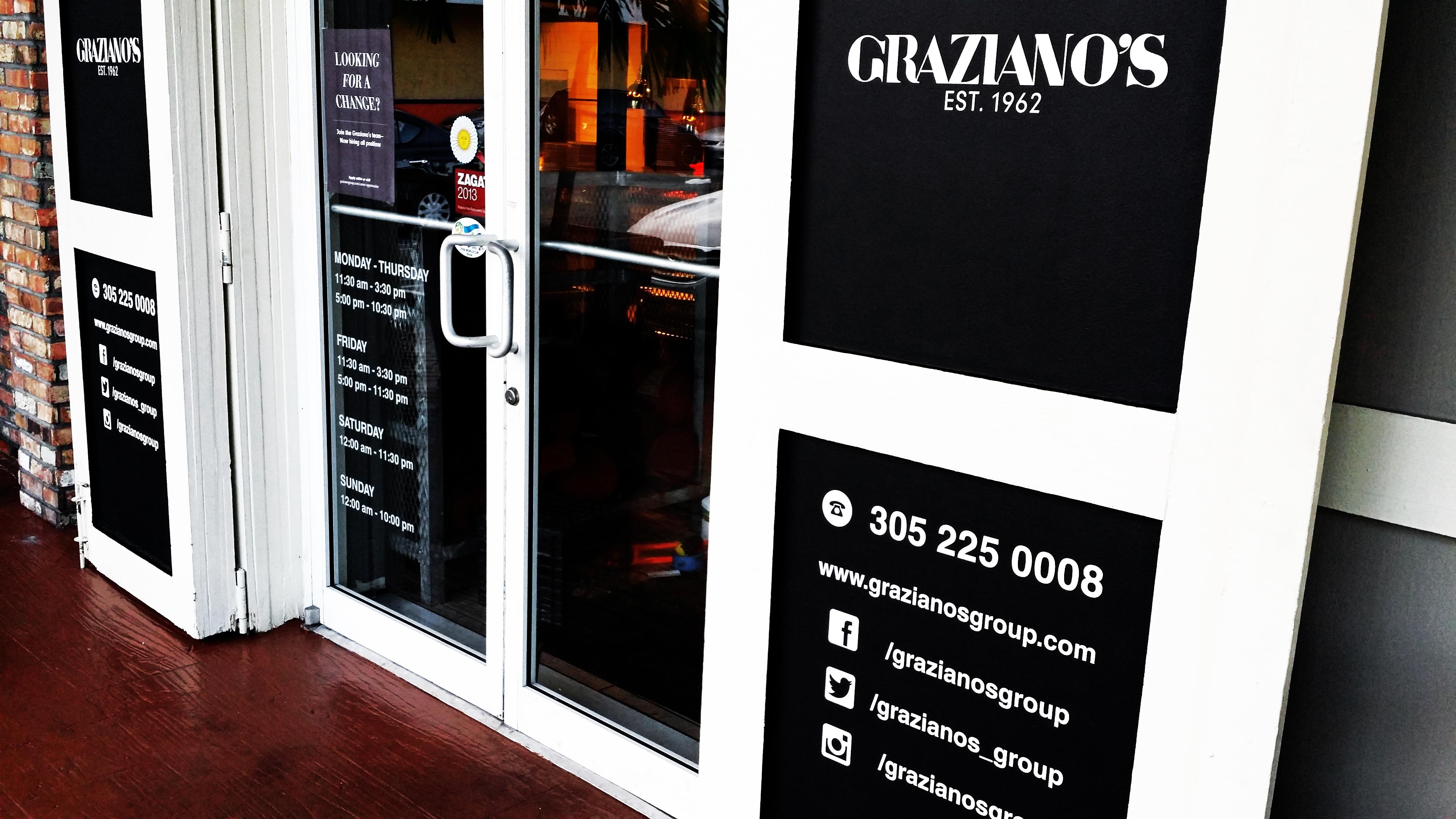 Graziano's Restaurant, Miami Fl