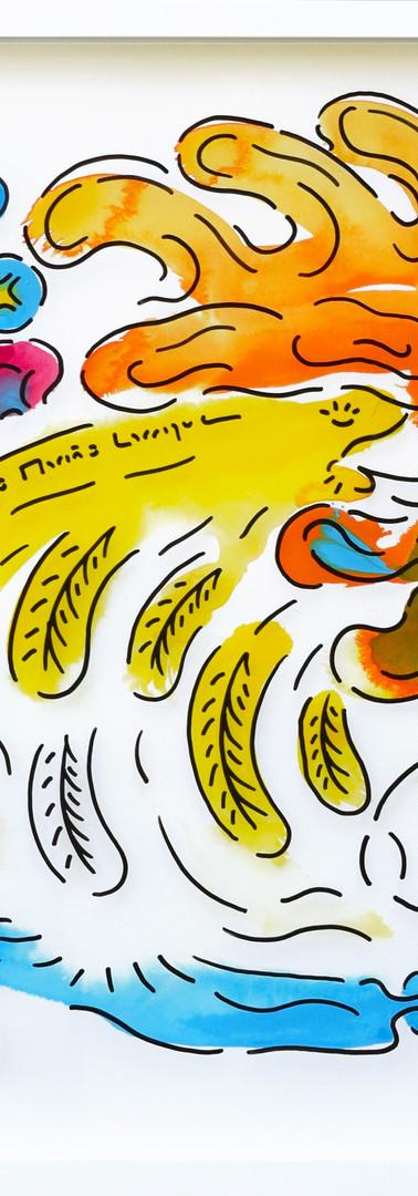 #161 Golden eggs chicken