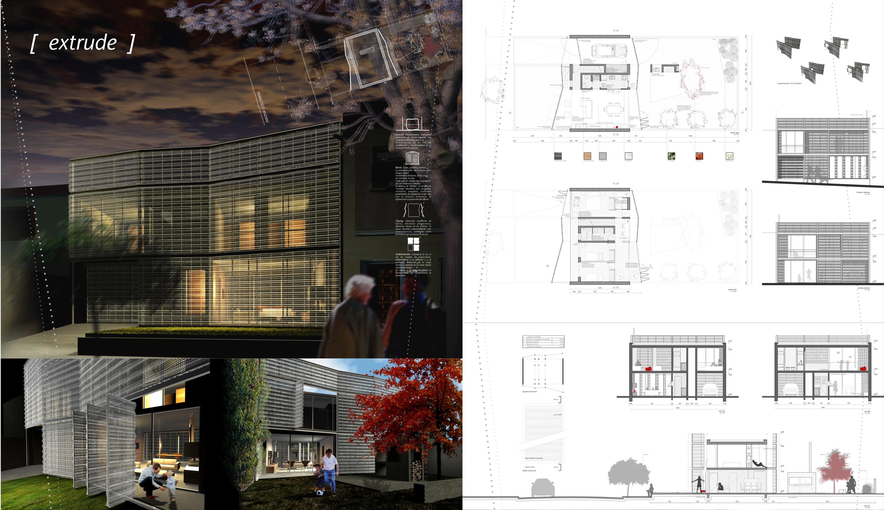 Extrude house