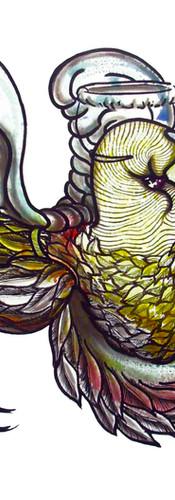 #73 halloween for old dancer birds