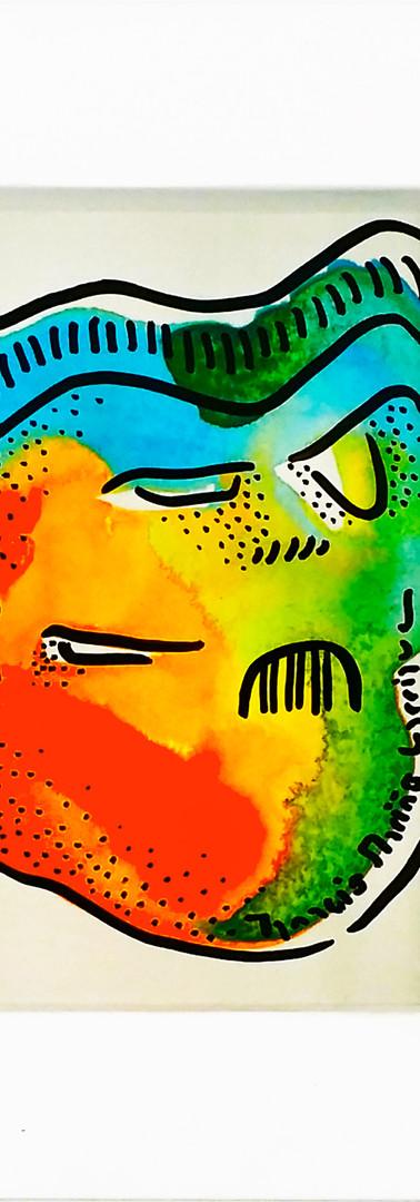 #157 Three-eyes iron mask