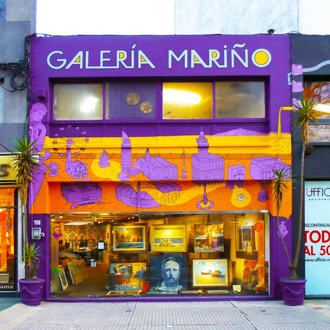 Art Gallery mural