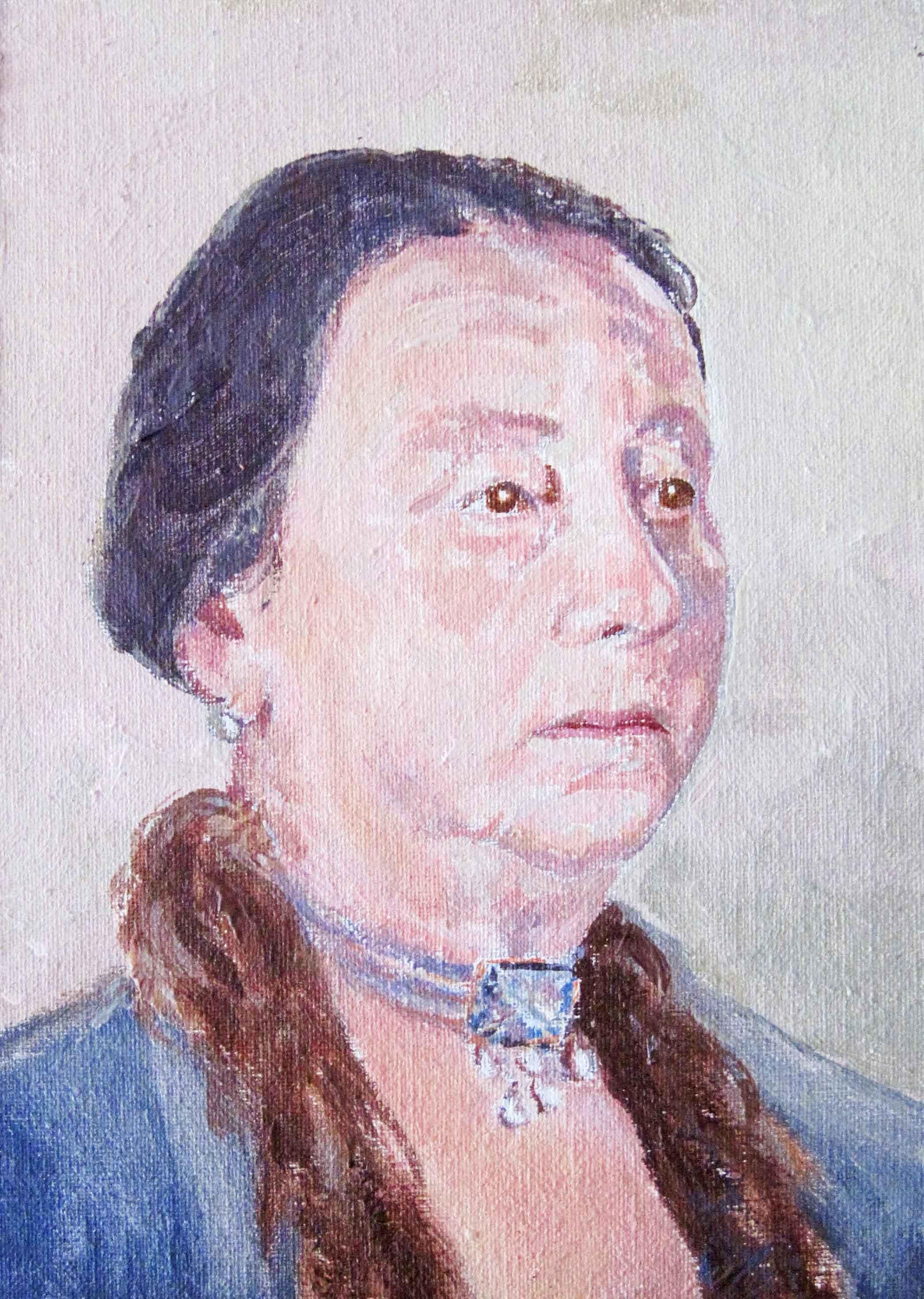 """José Luís's grand mother"""