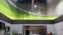 Alfa Golf - 3D Mural concept
