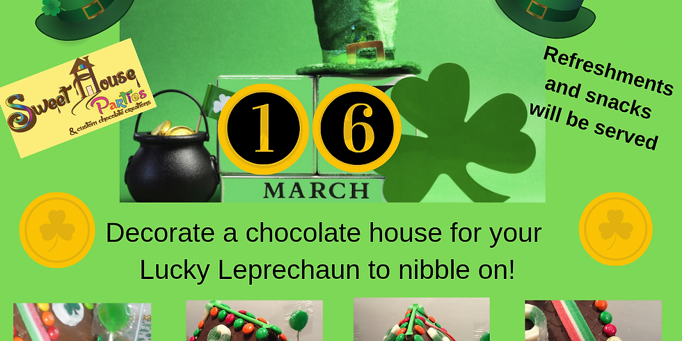 Little Leprechaun Workshop  12:30 PM - SOLD OUT