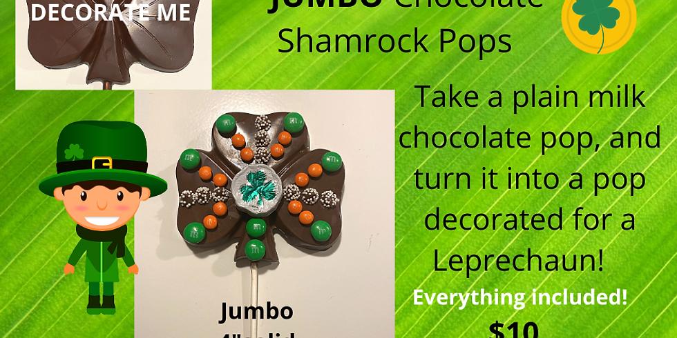 TAKE & CREATE JUMBO SHAMROCK POPS - SOLD OUT