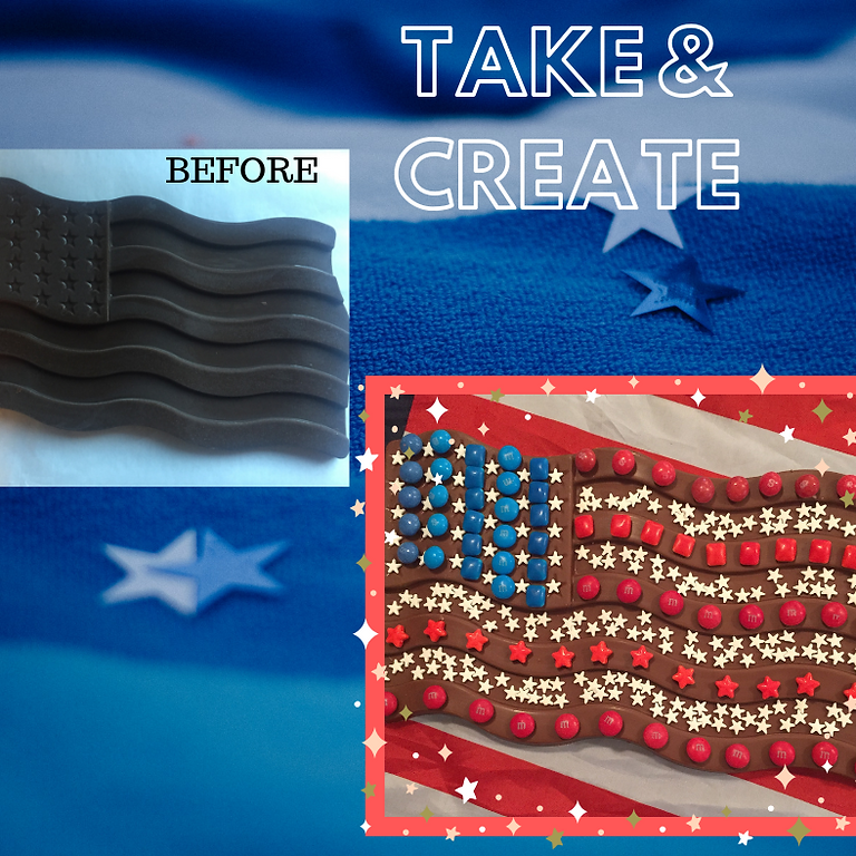 Take & Create USA Flag