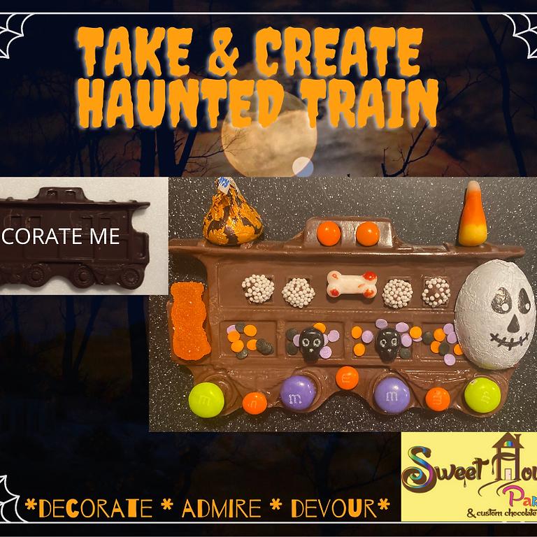TAKE & CREATE HAUNTED TRAIN