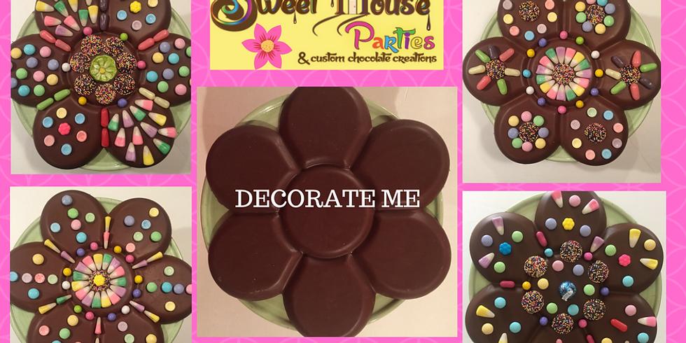 """Take & Create"" HUGE Chocolate Flower"