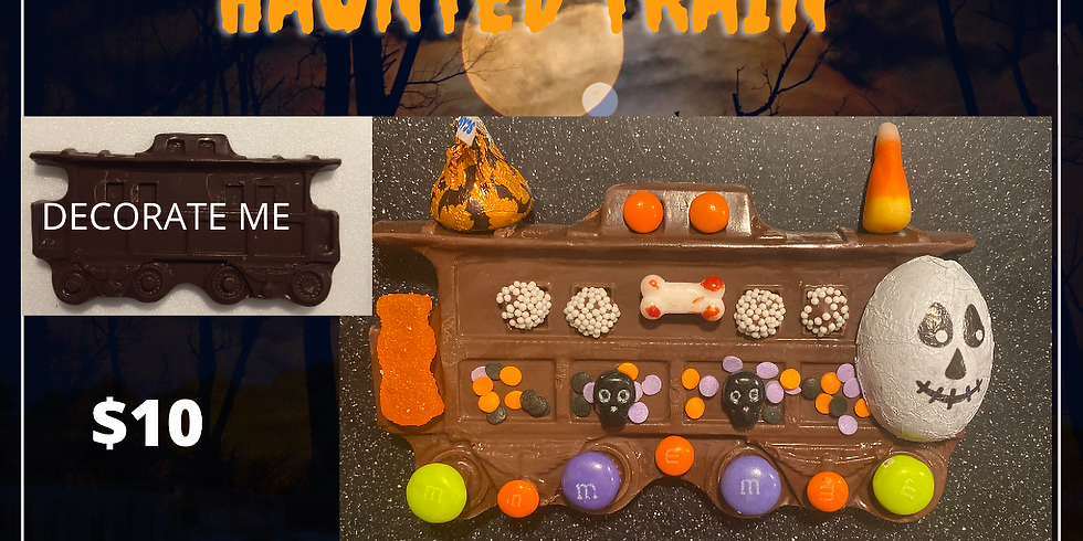 TAKE & CREATE Haunted Train - SOLD OUT
