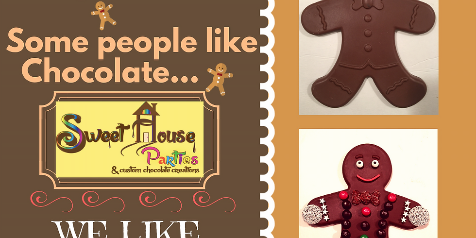 Take & Create (Chocolate) Gingerbread Man