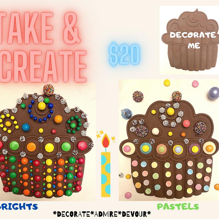Take & Create Cupcake