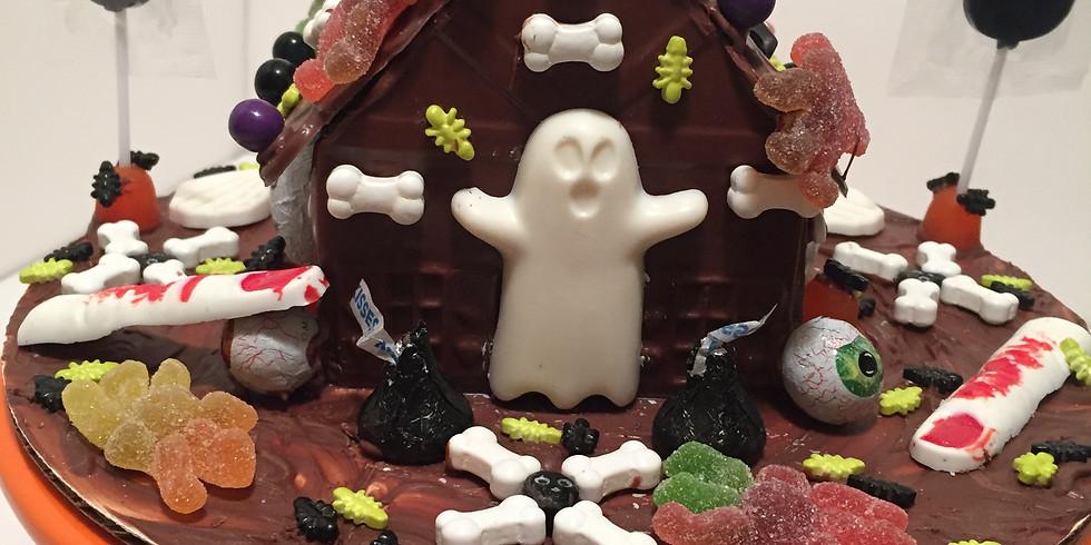 TAKE & CREATE CHOCOLATE HALLOWEEN HOUSE