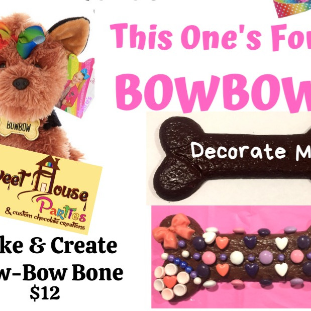 """Take & Create"" BowBow Chocolate Bone"
