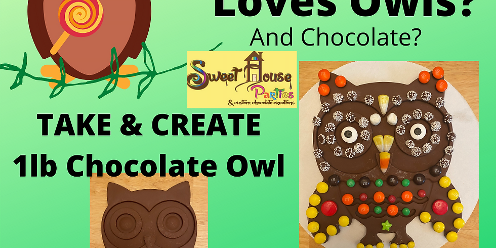 Take & Create Chocolate Owl