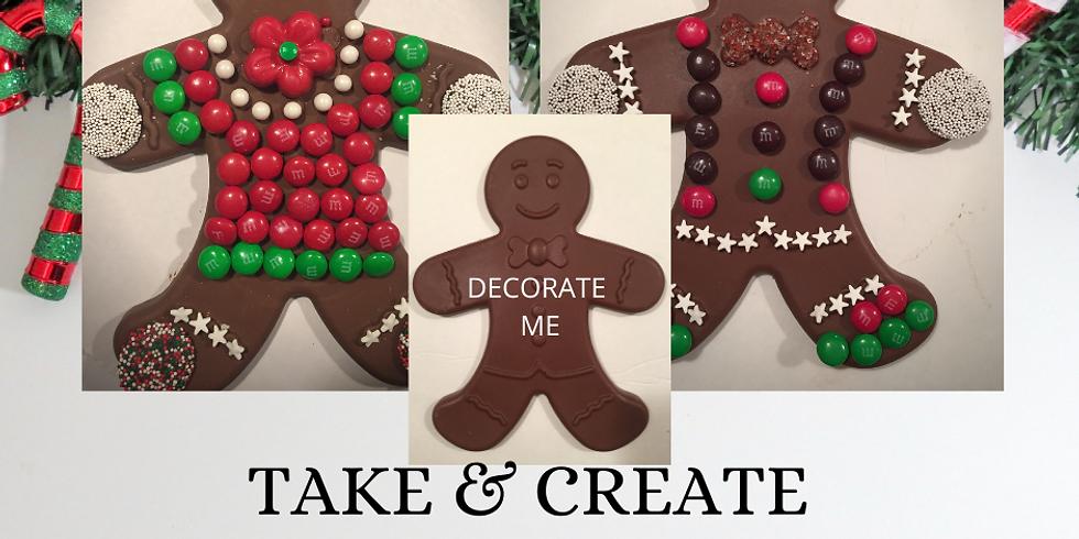 TAKE & CREATE CHOCOLATE MAN OR WOMAN
