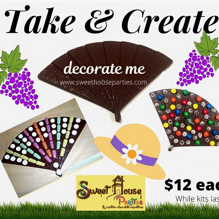 Take & Create Chocolate Fan