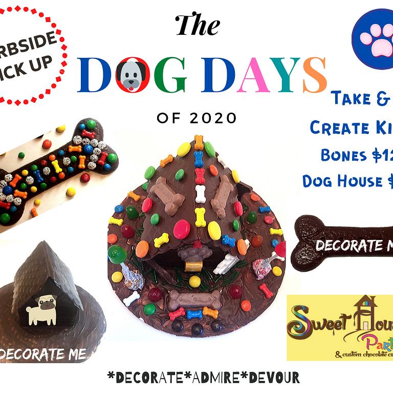 Take & Create Dog House or Dog Bone