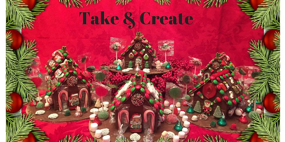 TAKE & CREATE CHRISTMAS HOUSE