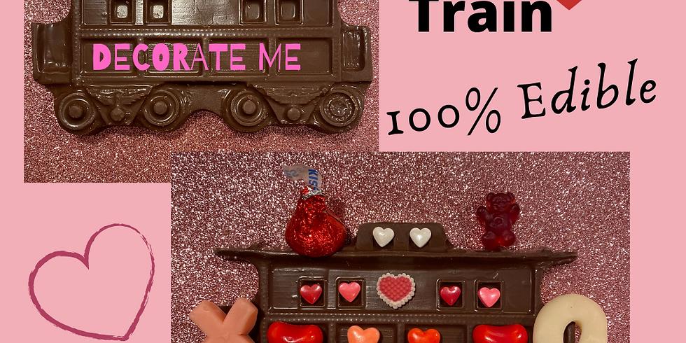 TAKE & CREATE VALENTINE'S TRAIN