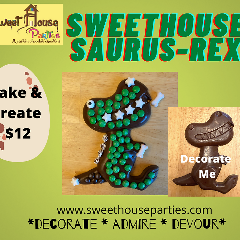 TAKE & CREATE SweetHouse Saurus-Rex