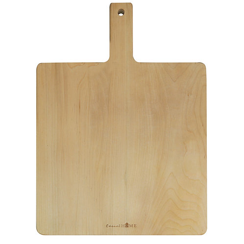 Amity Maple Rectangle Cutting Board with Hanging Hole & Handle
