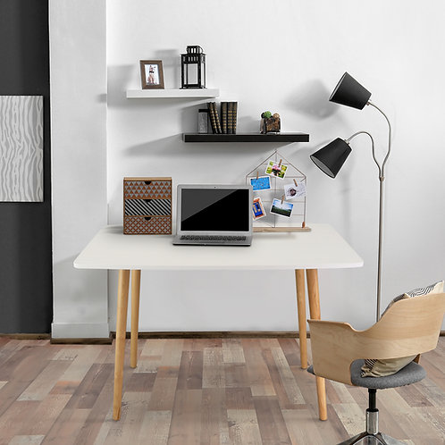 Ezly Mid-Century Style Wooden Desk