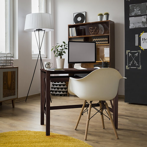 Montego Folding Desk with Pull-Out