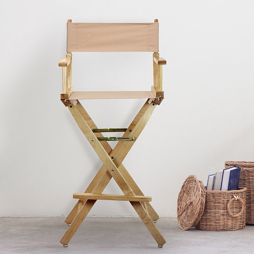"""30"""" Director's Chair Natural Frame"""
