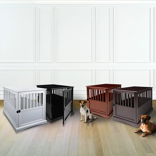 Large Pet Crate End Table