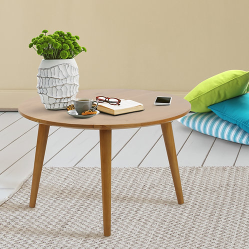 Mesa Coffee Table with Solid Cherry Wood Top