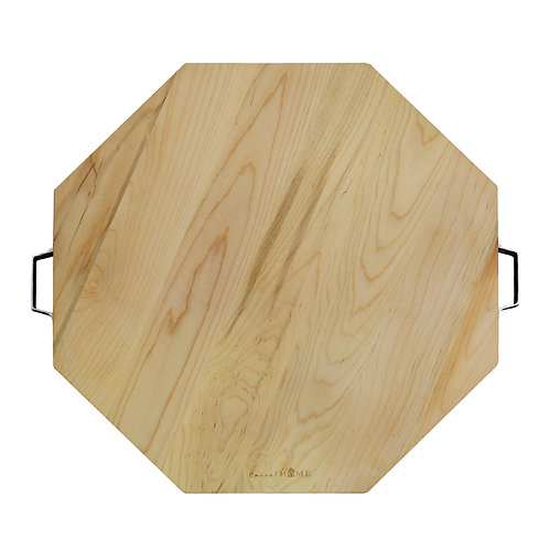 Sonoma Maple Hexagon Cutting Board with Handles