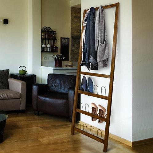 Studio Leaning Coat and Shoe Rack
