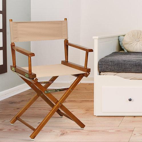 "18"" Director's Chair Honey Oak Frame"