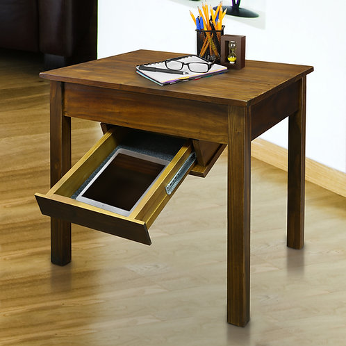 Kennedy End Table with Concealed Drawer