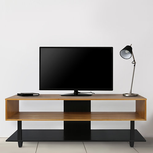 Creek TV Stand with Solid American Cherry