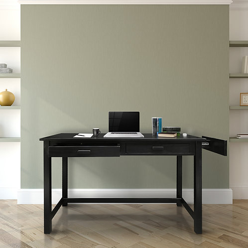 Jefferson Work Desk with Concealed Side Drawer