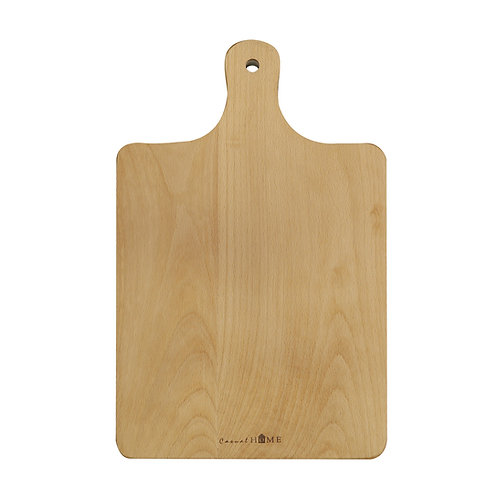 Napa Beech Rectangle Cheese Board with Hanging Hole & Handle