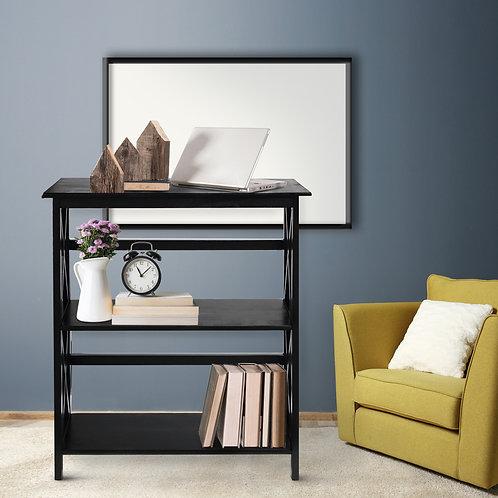 Montego 3-Shelf Bookcase