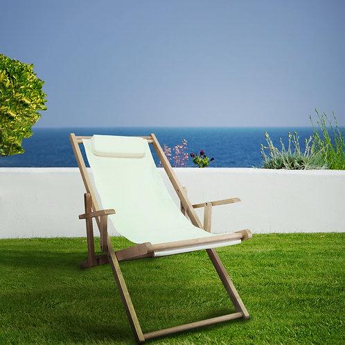 Sling Chair Natural Frame