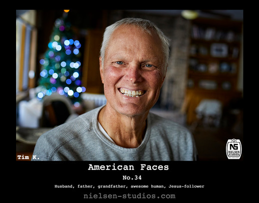 American Faces #34. Photo taken by Nielsen Studios Inc of Minnesota for the American Faces Series.  Available light, Minneapolis, Minnesota, people photography, location photography, flash photography, lighting