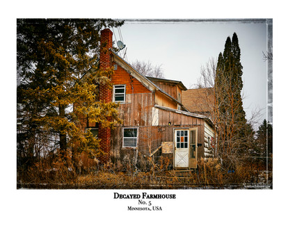 Decayed Farmhouse - No. 5