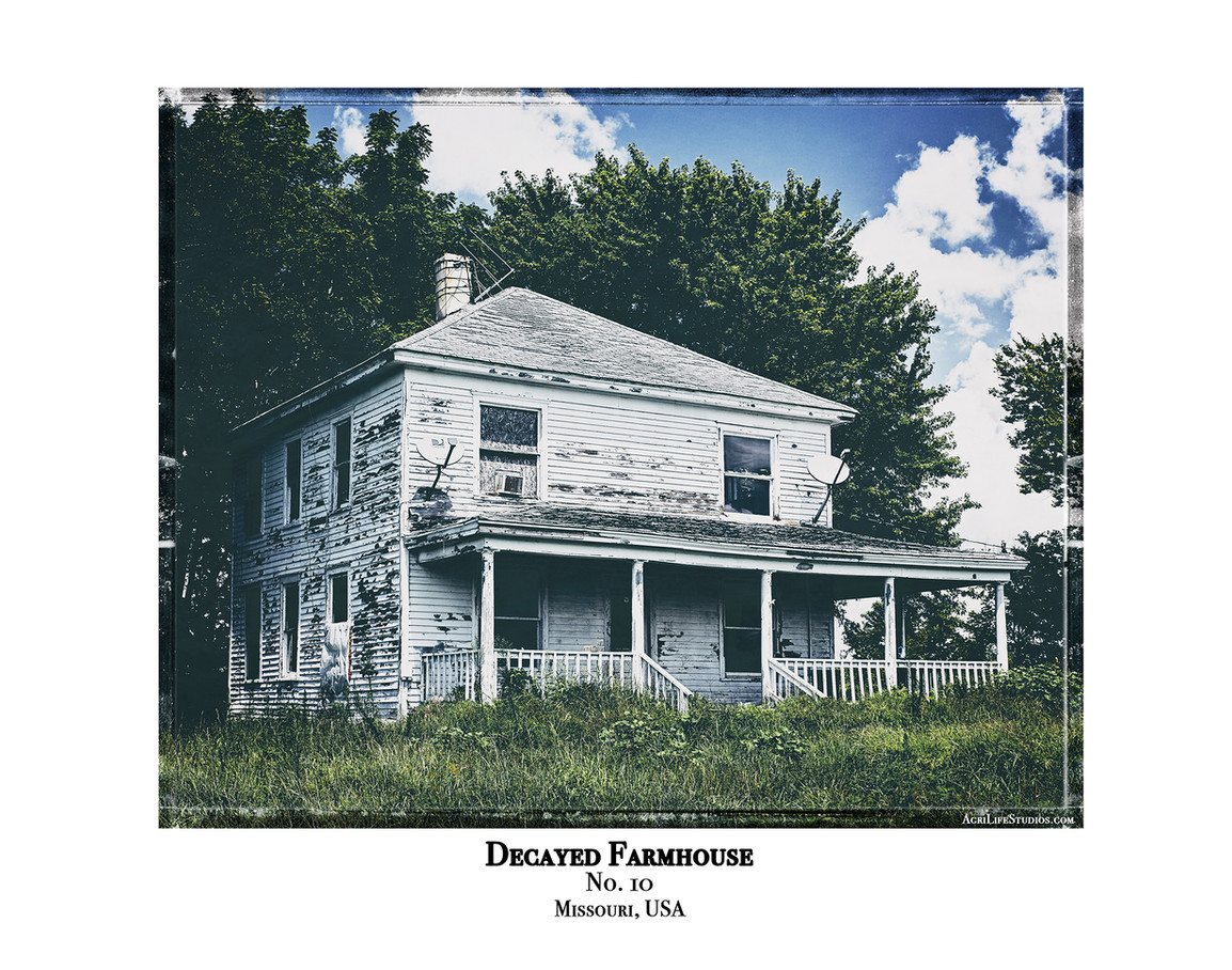 Decayed Farmhouse - No. 10