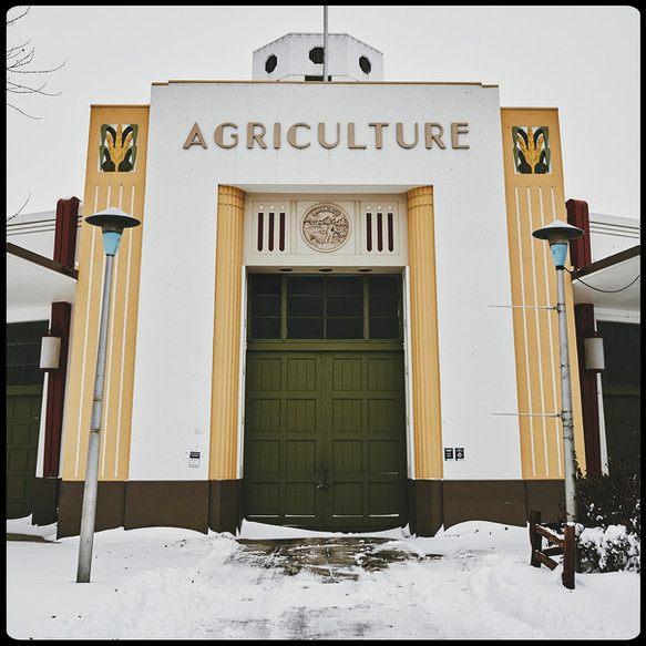 Art Deco facade