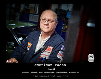 American Faces  #42