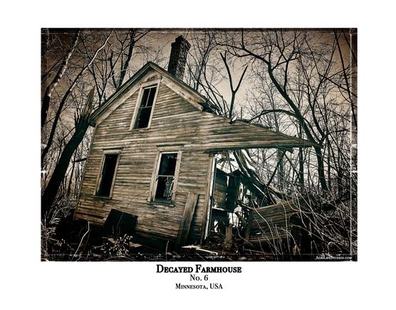 Decayed Farmhouse - No. 6
