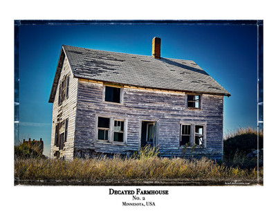 Decayed Farmhouse- No. 2
