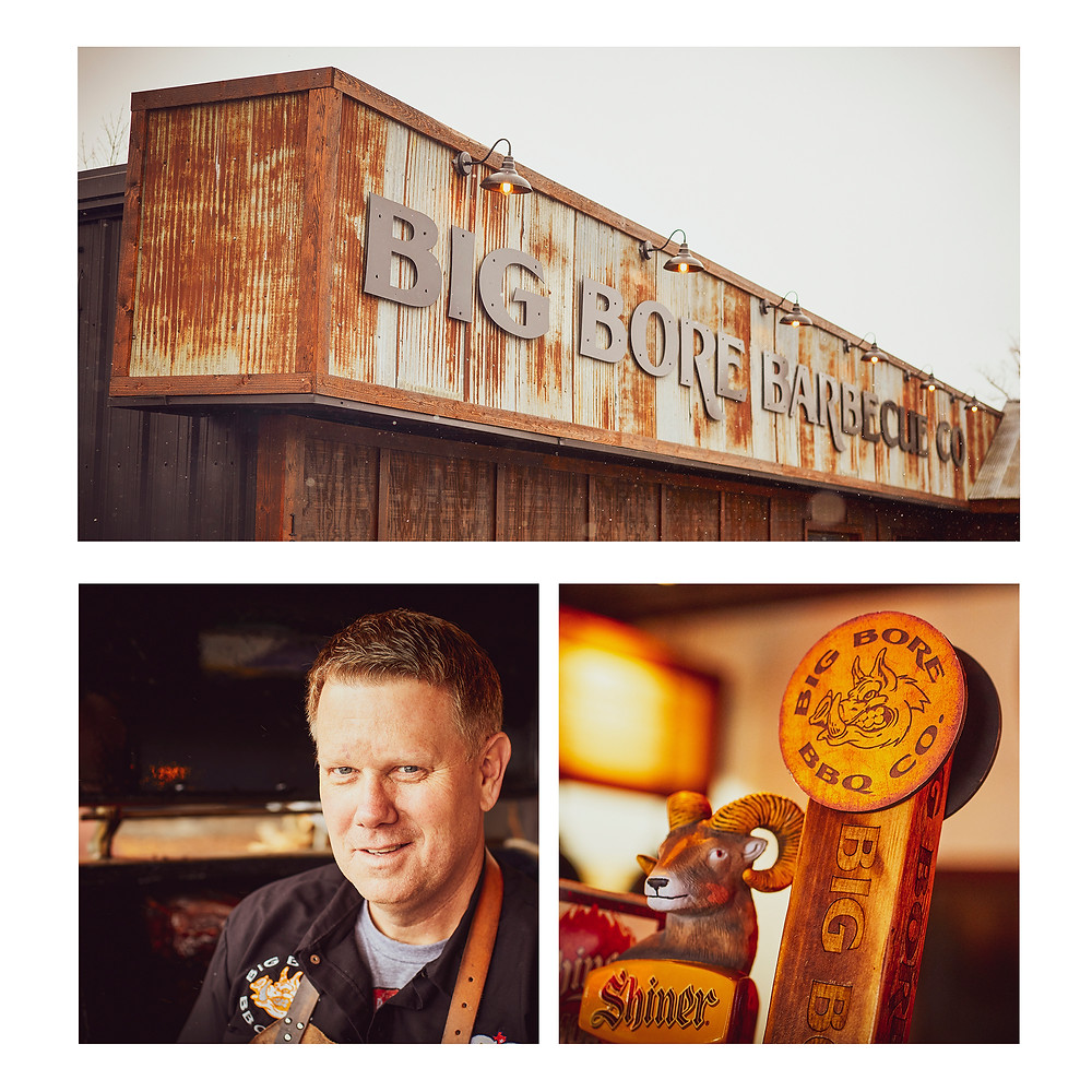 Chad Brink of Big Bore Barbecue in Rogers, MN