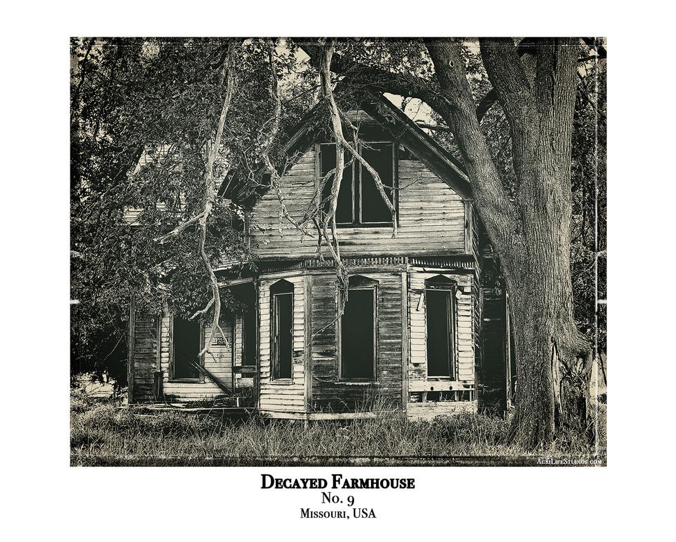 Decayed Farmhouse - No. 9