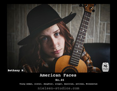 American Faces #46. Photograph of Bethany N..